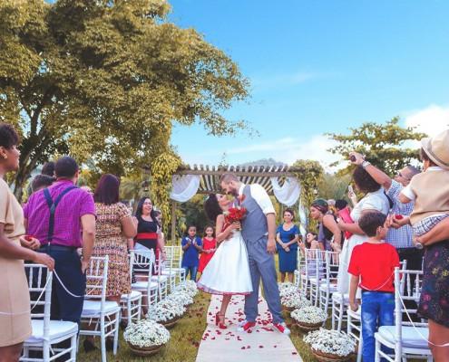 Cerimônia de casamento - Carolina e Fabricio